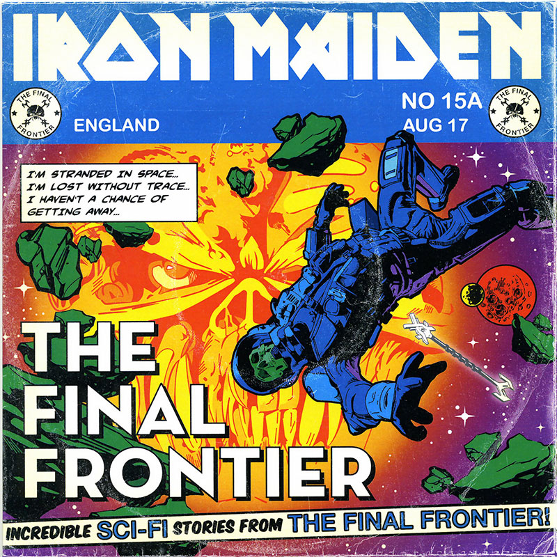 Iron Maiden - Satellite 15... The Final Frontier